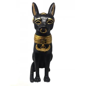 Bastet Figur gross - Ägyptische Mythologie Katzengöttin Dekofigur Deko